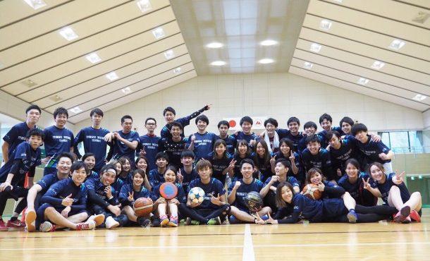 WING合宿2019!🏀⚽️